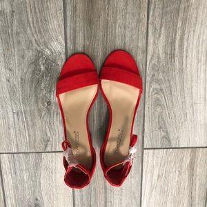 Shoedazzle Clare Ankle Block Heels